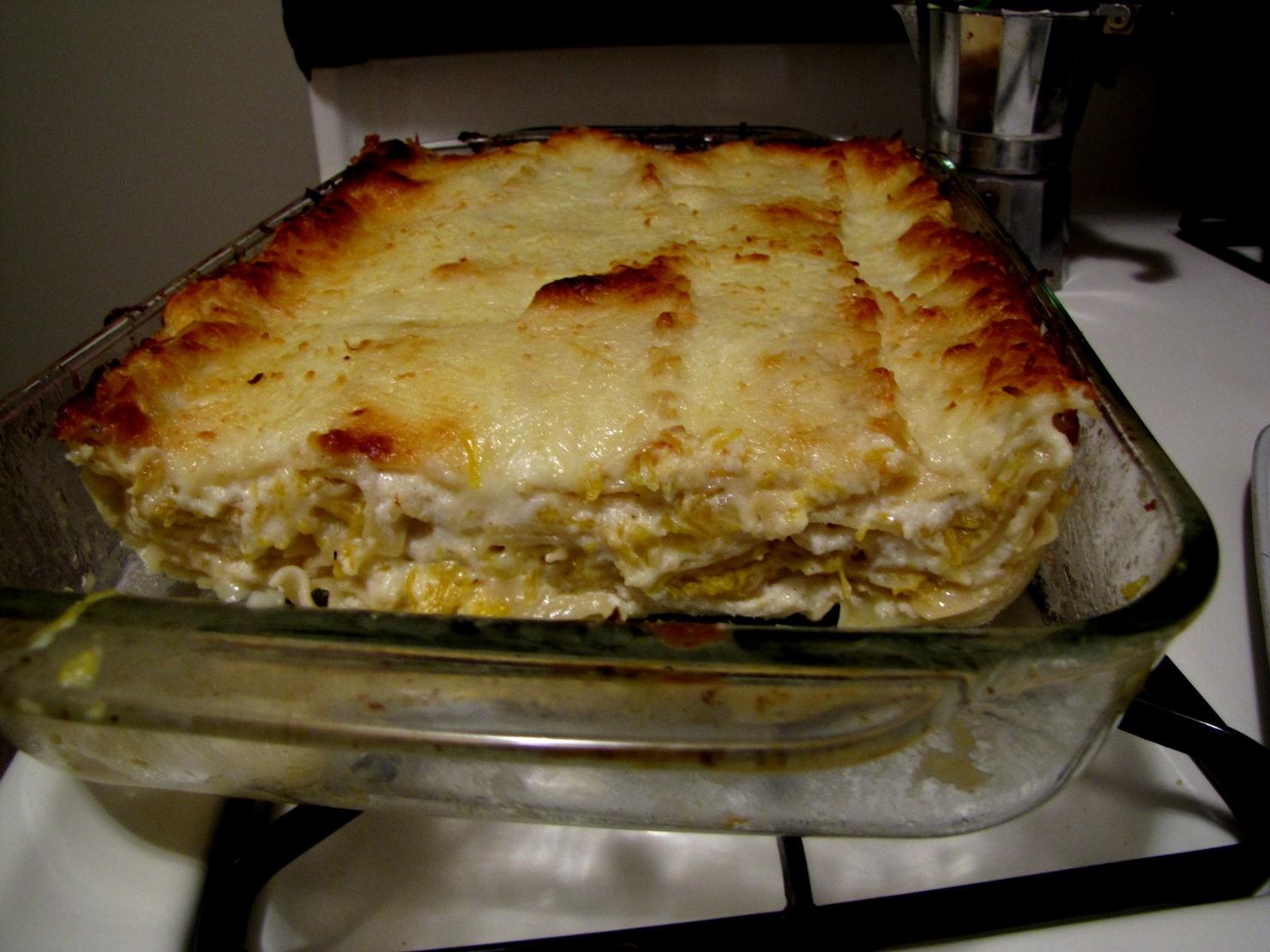 Pumpkin Lasagna | Tasty Kitchen: A Happy Recipe Community!
