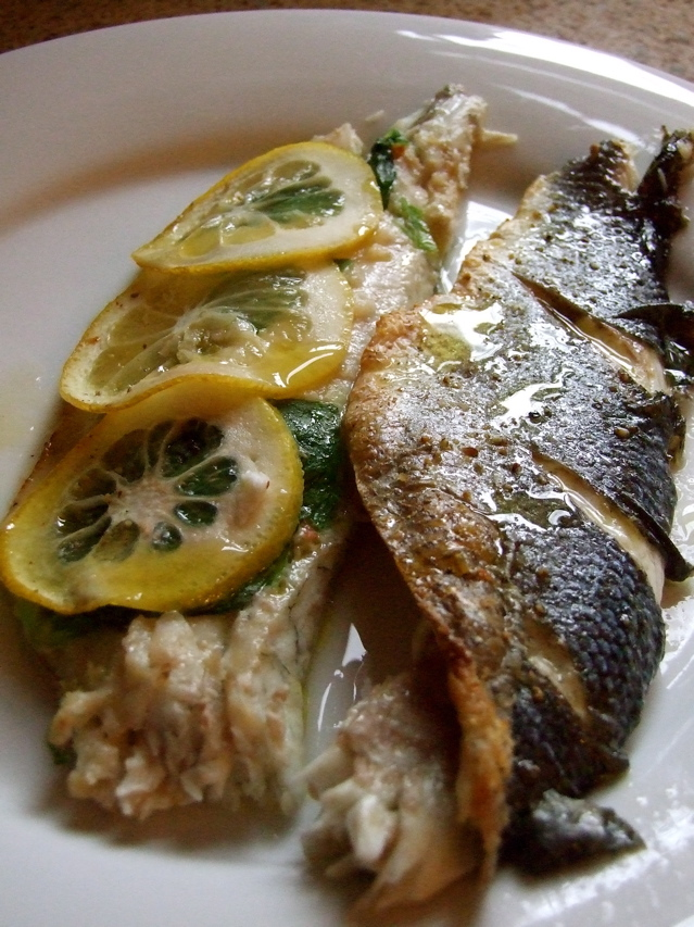 Mediterranean roasted whole fish tasty kitchen a happy for Mediterranean fish recipes