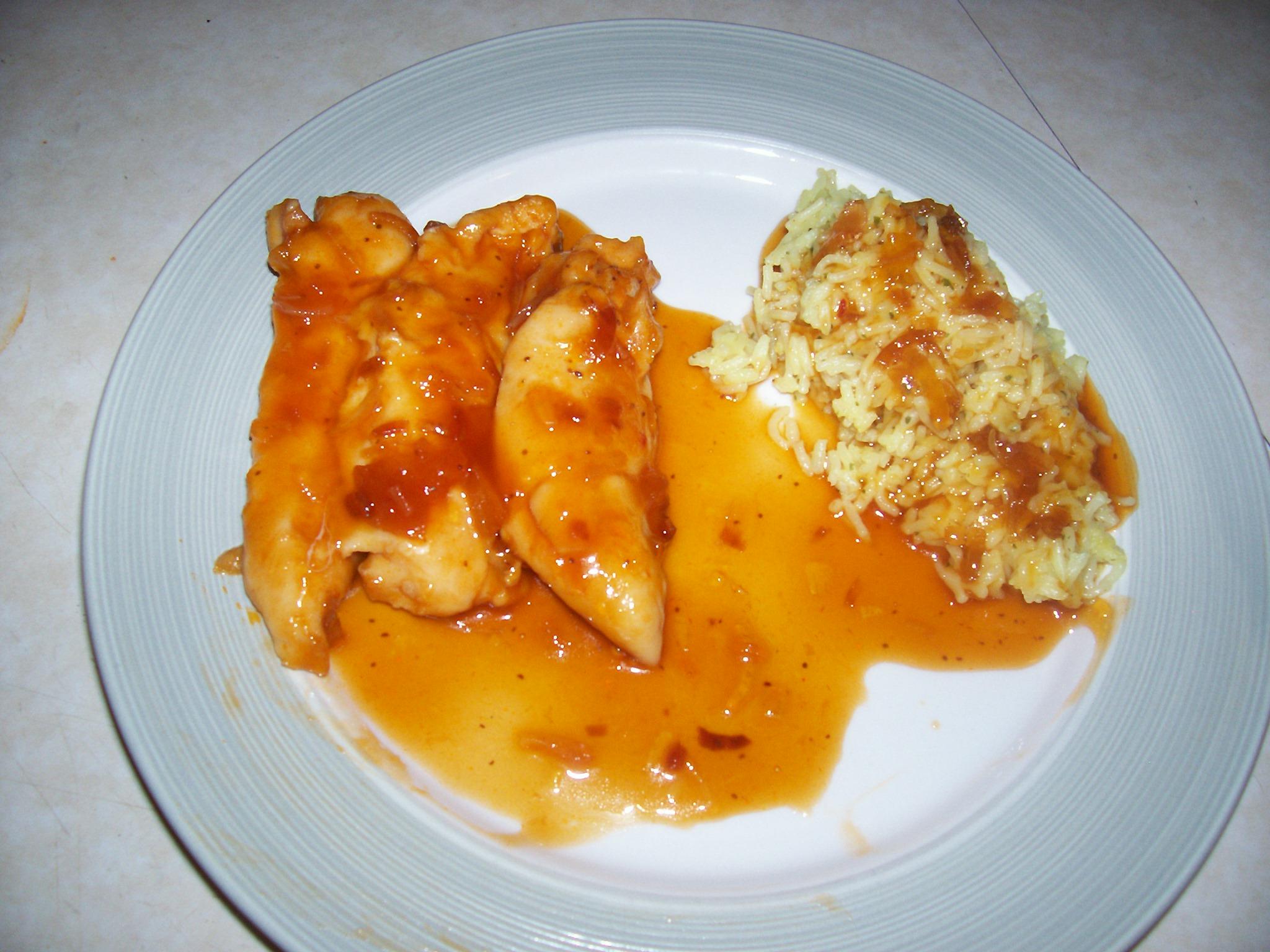 Polynesian Chicken Recipe — Dishmaps