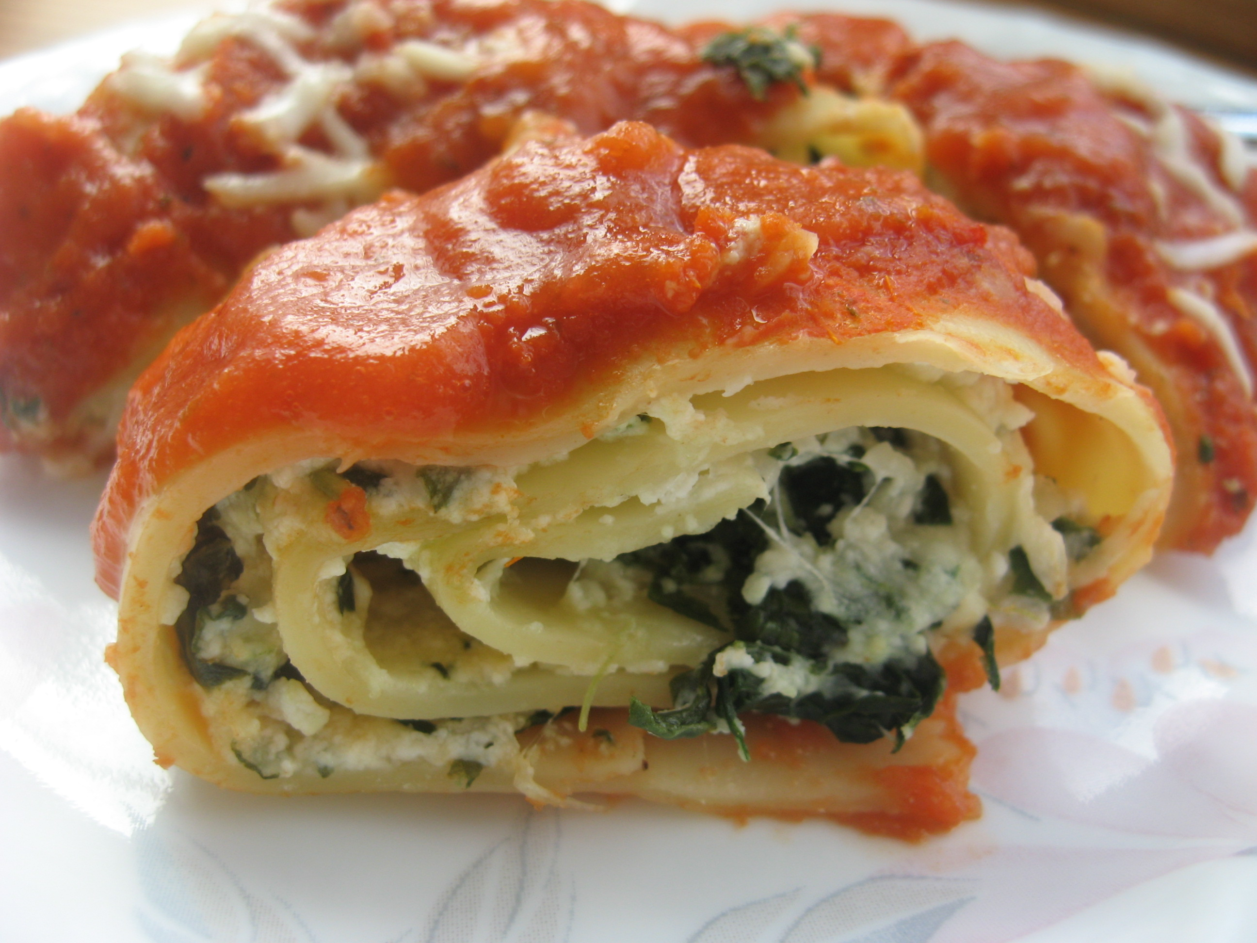 Image result for Healthy Spinach Lasagna Rolls