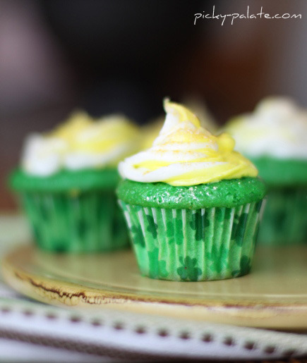Lucky Green Velvet Baby Cakes | Tasty Kitchen: A Happy Recipe ...