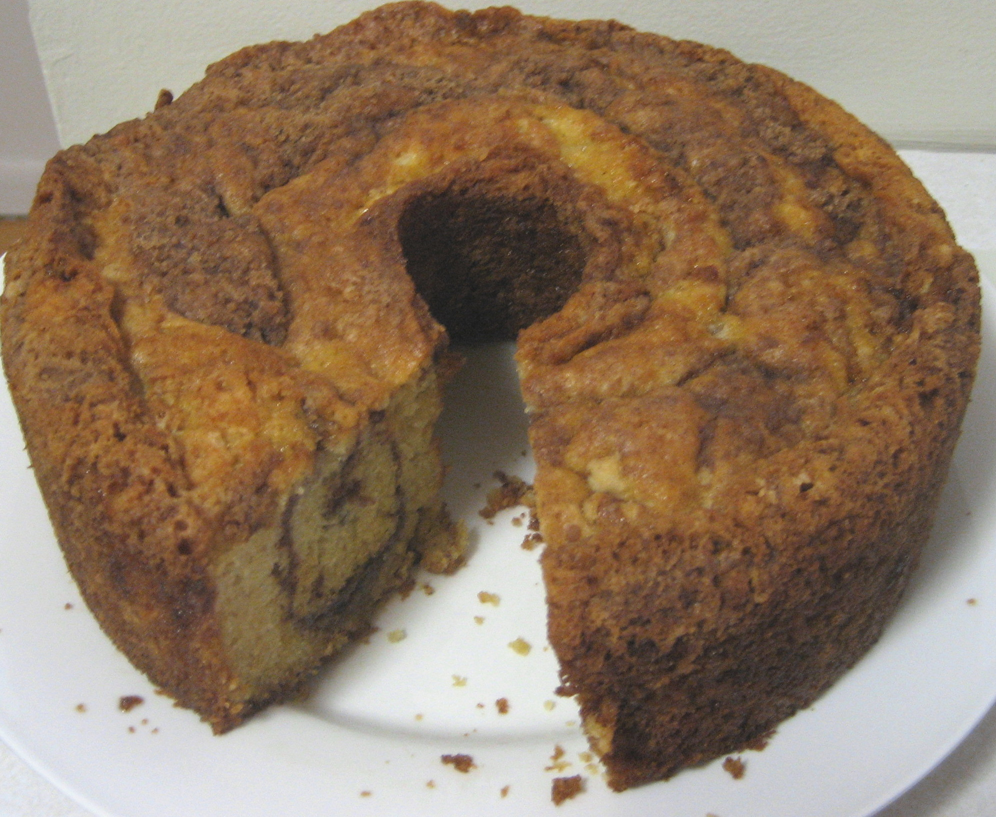 Sour Cream Coffee Cake With Cinnamon Brown Sugar Streusel Tasty Kitchen A Happy Recipe Community