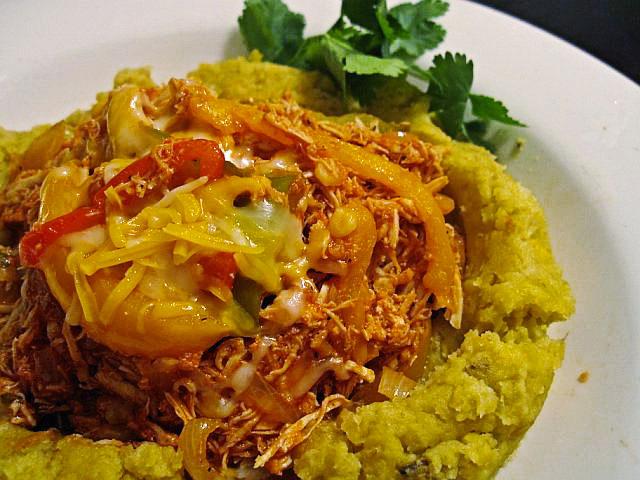 Chicken Ropa Vieja with Mangu | Tasty Kitchen: A Happy Recipe ...