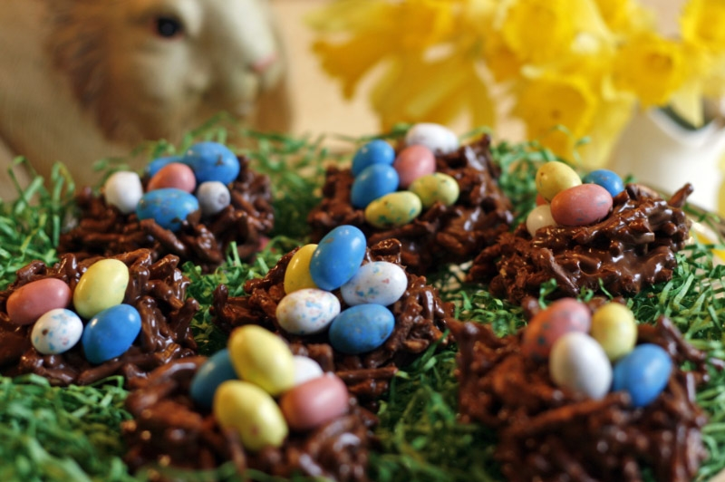 Easter Egg Nests Recipe Chow Mein Noodles - multiforme.top