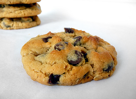 Peanut Butter-Oatmeal Chocolate Chip Cookies | Tasty ...
