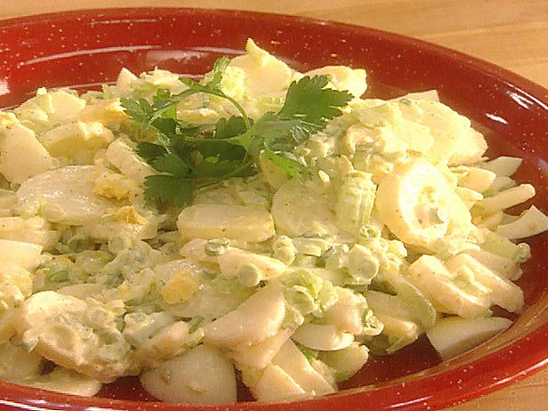 Салат с картофелем простой