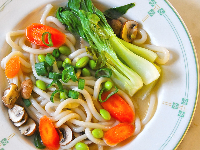 how to cook hime udon noodles soup