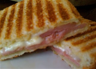Ham and Cheese Panini with Special Sauce | Tasty Kitchen ...