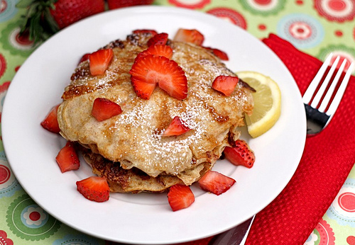 Nice Lemon Cottage Cheese Pancakes With Strawberries | Tasty Kitchen: A Happy  Recipe Community!