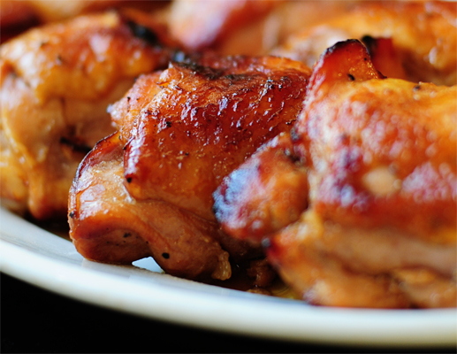 Honey Soy Baked Chicken Thighs Tasty Kitchen A Happy Recipe Community