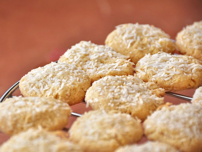 Lemon Honey Coconut Biscuits | Tasty Kitchen: A Happy Recipe Community ...