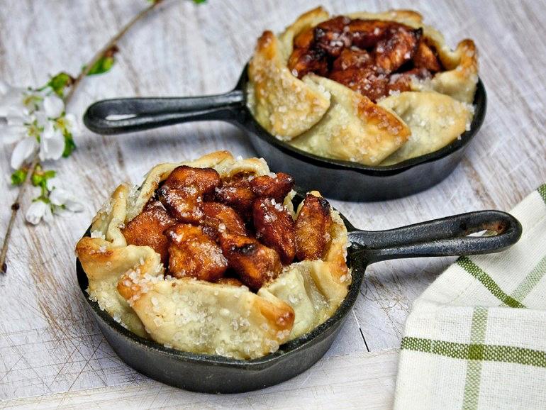 Rustic Skillet Apple Tart | Tasty Kitchen: A Happy Recipe Community!