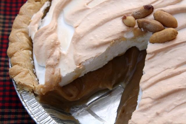 Diner Style Peanut Butter Custard Pie