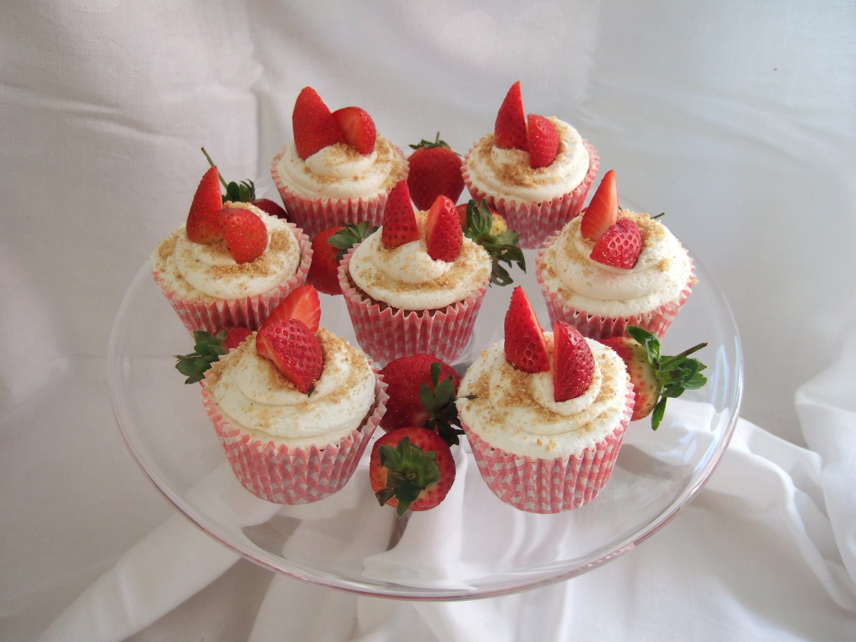 Strawberry 'Cheesecake' Cupcakes – Summer Is Here! | Tasty ...
