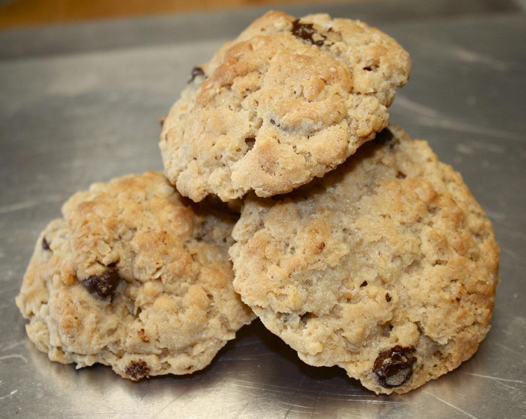 Oatmeal Rice Krispie Cookies