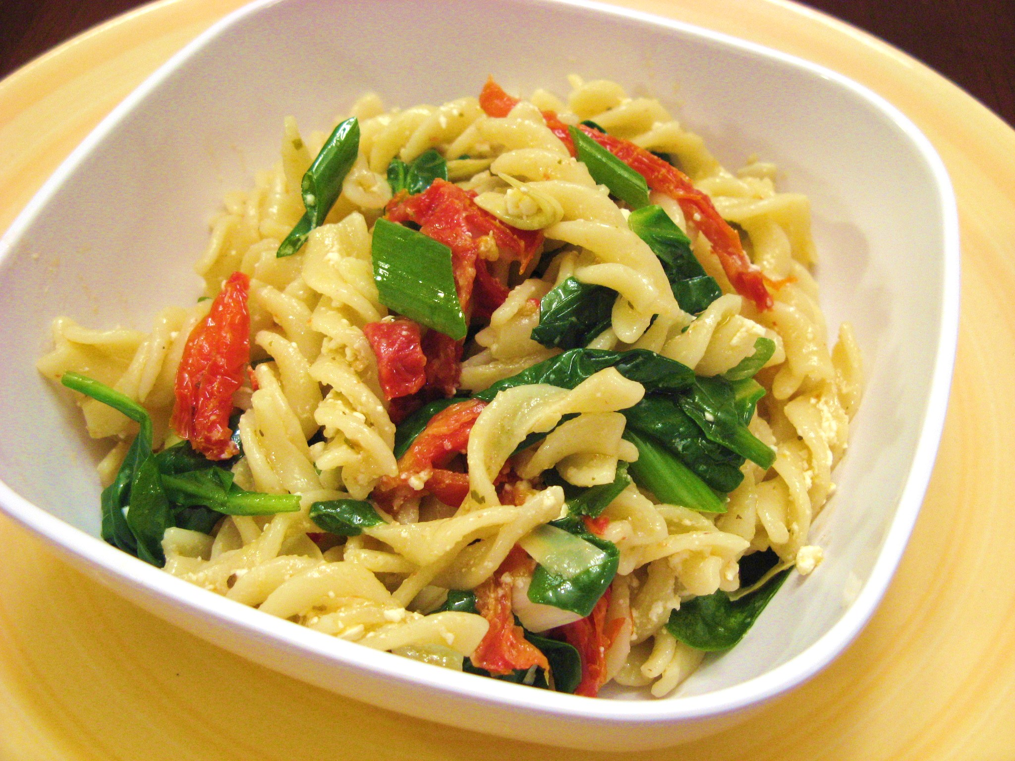 rabe with pasta and sun dried tomato es spinach sun dried tomato pasta ...