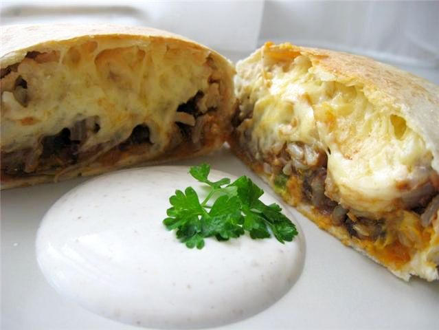 Baked Sweet Potato and Black Bean Burritos | Tasty Kitchen: A Happy ...