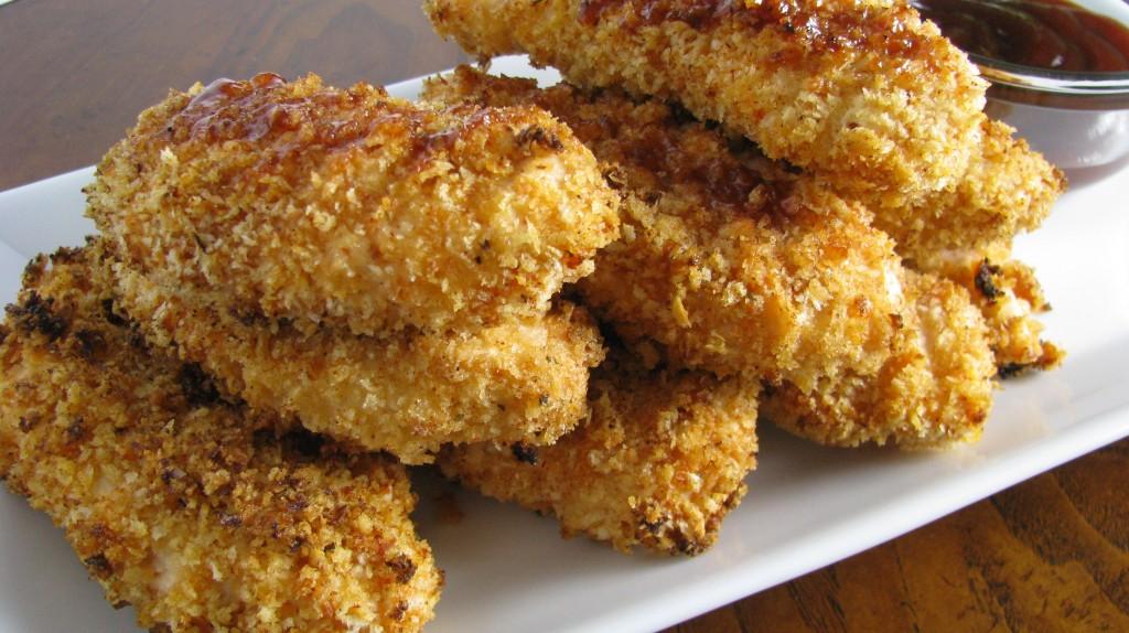 Healthy, Crispy BBQ Chicken Fingers | Tasty Kitchen: A ...