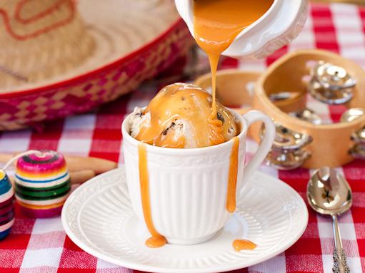 Cuban Coffee Ice Cream with Dark Chocolate and Dulche de Leche | Tasty ...