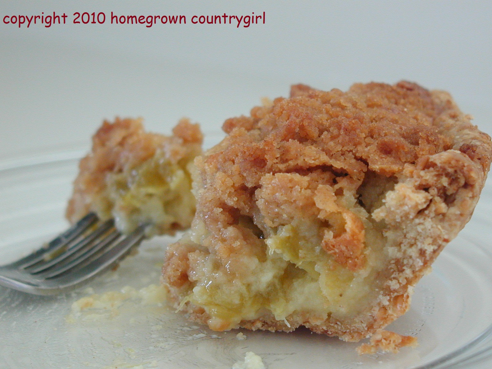 Sour Cream Rhubarb Pie | Tasty Kitchen: A Happy Recipe Community!