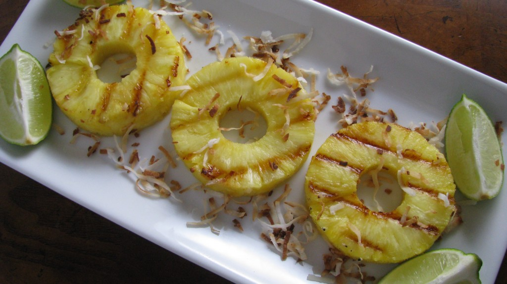 Grilled Pineapple with Toasted Coconut and Lime | Tasty ...