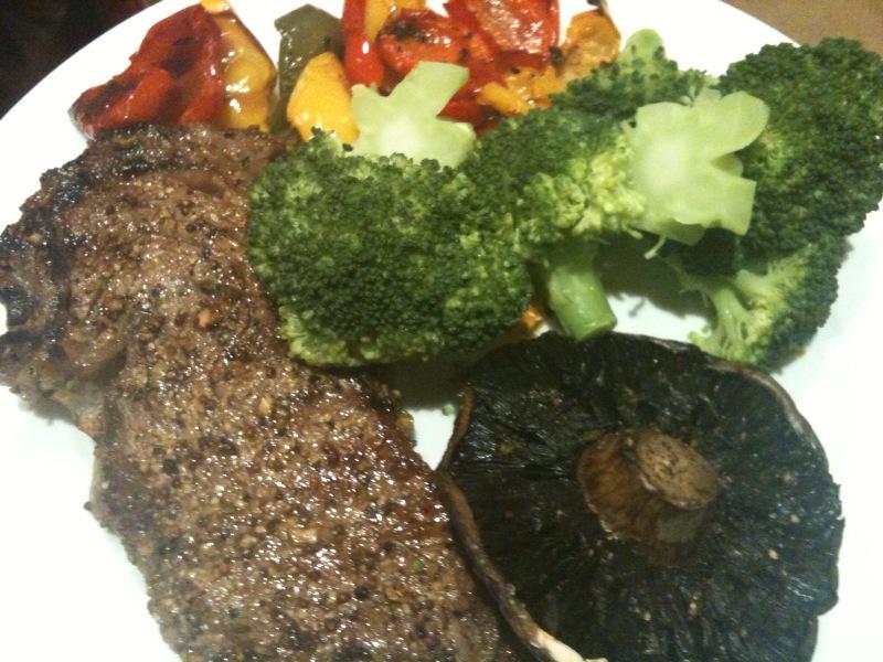 Healthy Steak Dinner