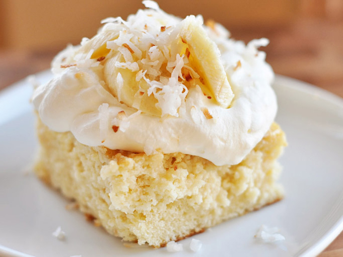 Tres Leches Cake Without Frosting