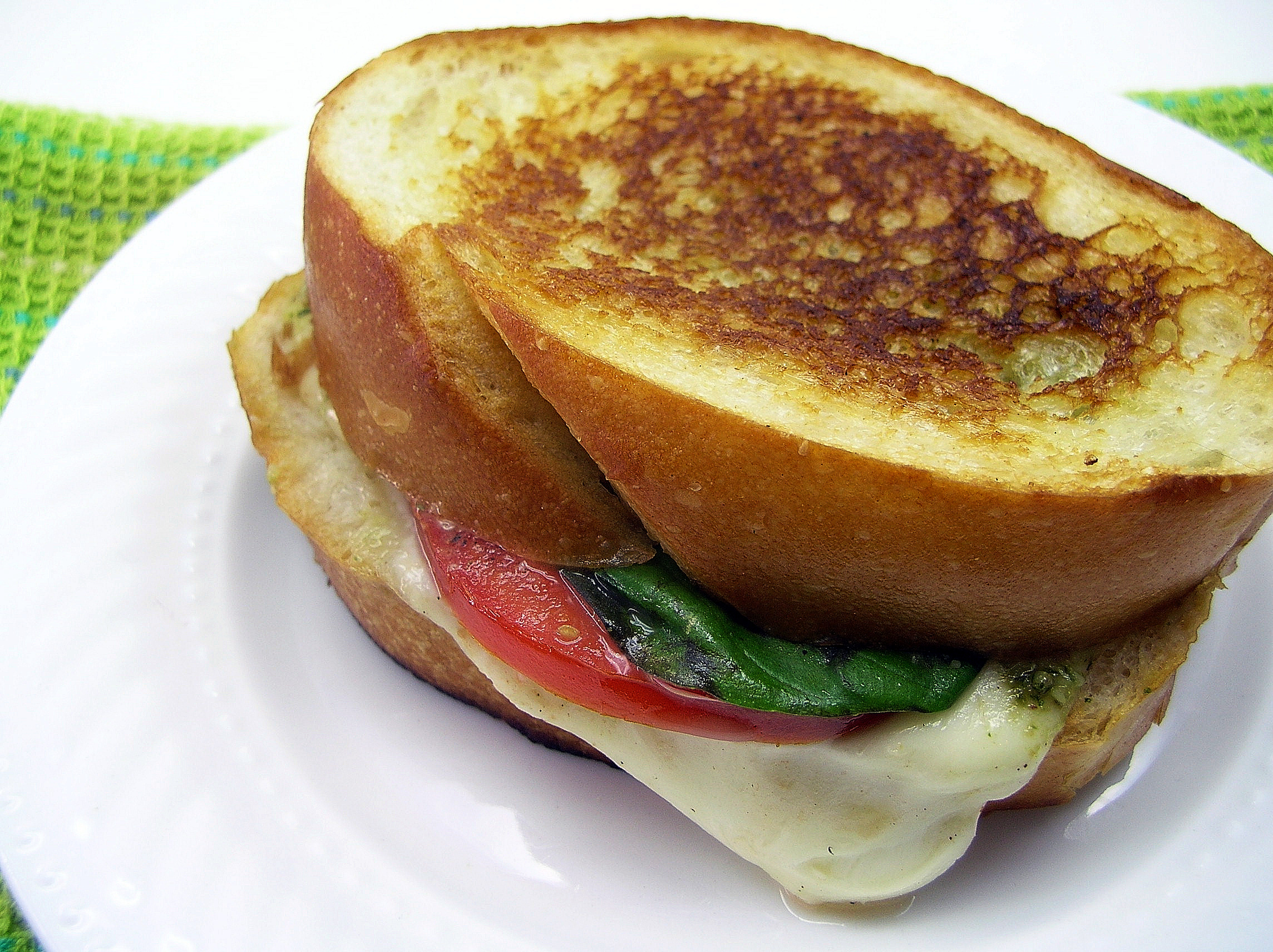 Caprese Grilled Cheese Sandwiches | Tasty Kitchen: A Happy Recipe ...