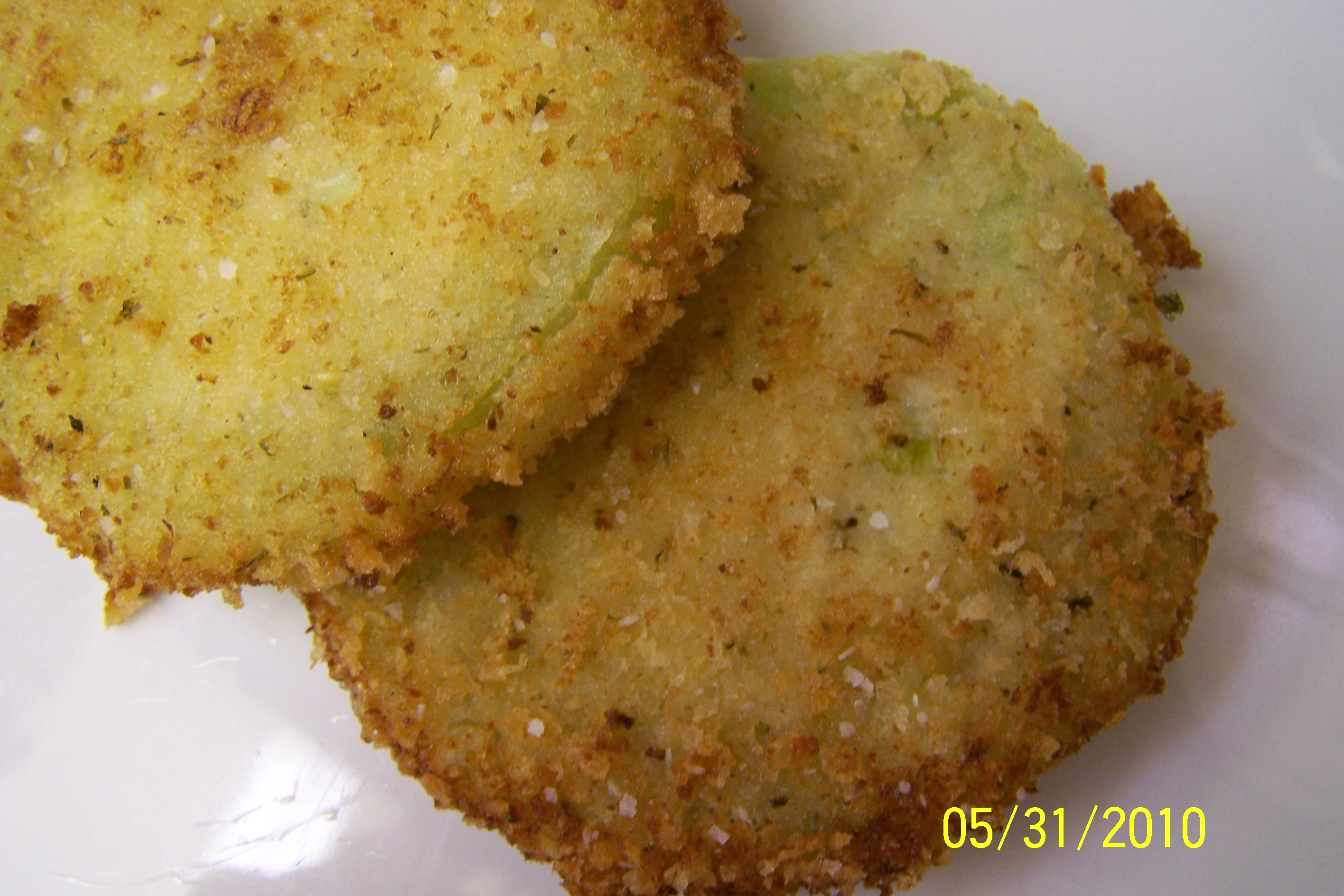 Panko-Parmesan Crusted Fried Green Tomatoes | Tasty Kitchen: A Happy ...