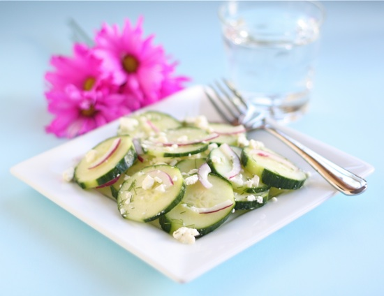 Cucumber Feta Salad | Tasty Kitchen: A Happy Recipe Community!