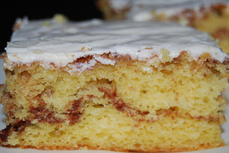 Honey Bun Cake Made With Honey Buns