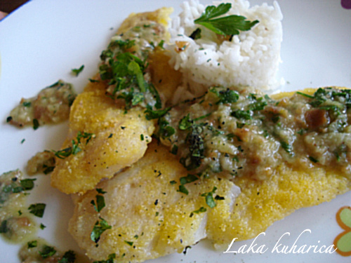 White fish fillets in parsley sauce tasty kitchen a for White fish fillet recipe