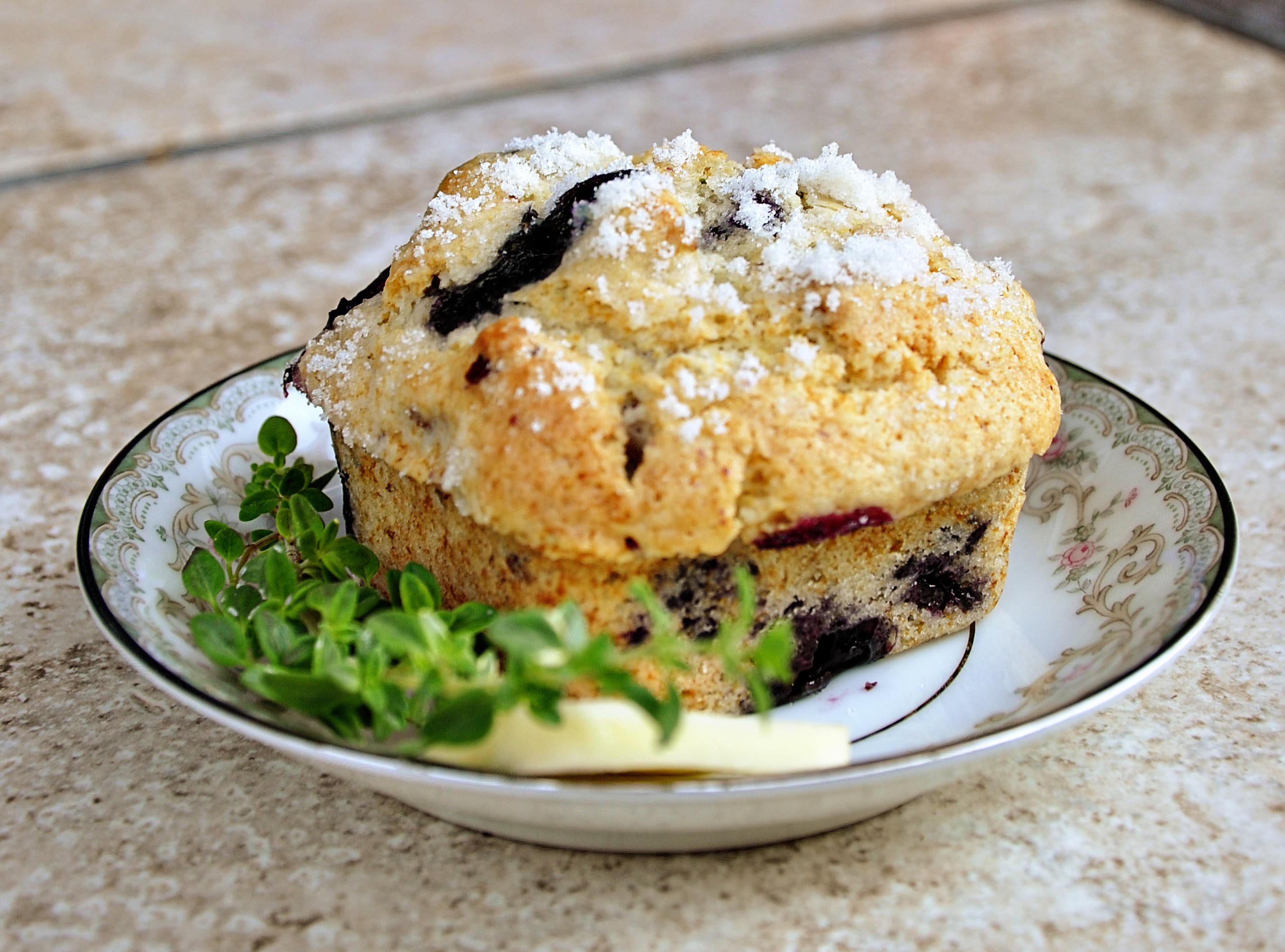 Blueberry Lemon Thyme Muffins | Tasty Kitchen: A Happy Recipe ...