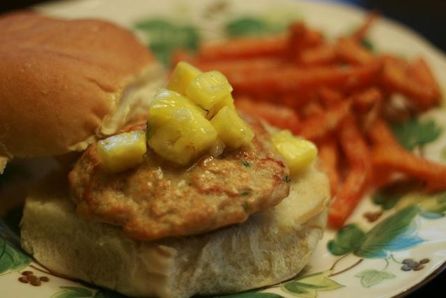 Hawaiian Burgers (Chicken Burgers) | Tasty Kitchen: A Happy Recipe ...