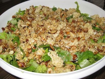 Mother fucking asian lettuce salad recipe got some nice