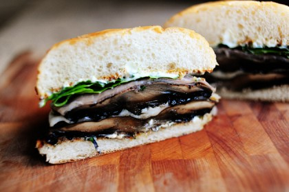 Portobello-Prosciutto Burgers | The Pioneer Woman