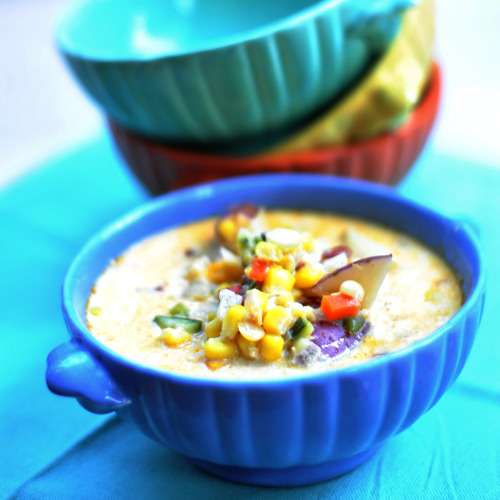 Vegetable Chowder Recipe — Dishmaps