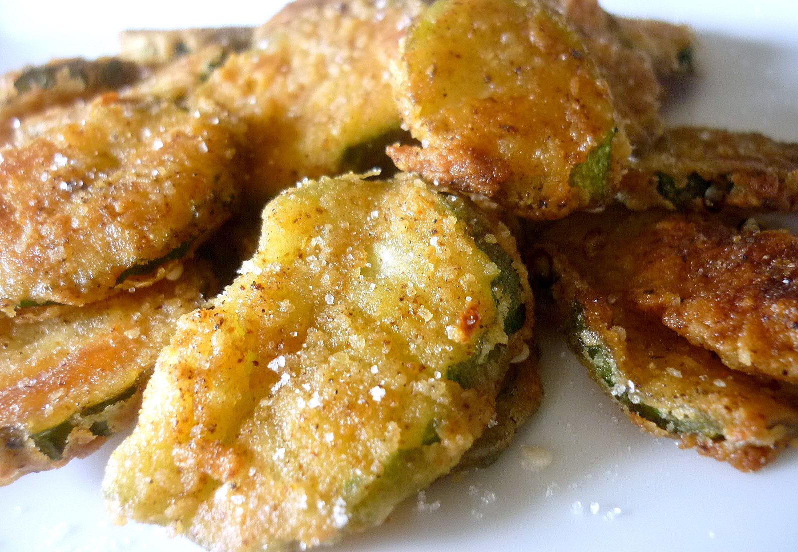 Fried Asian Cucumber Crinkles