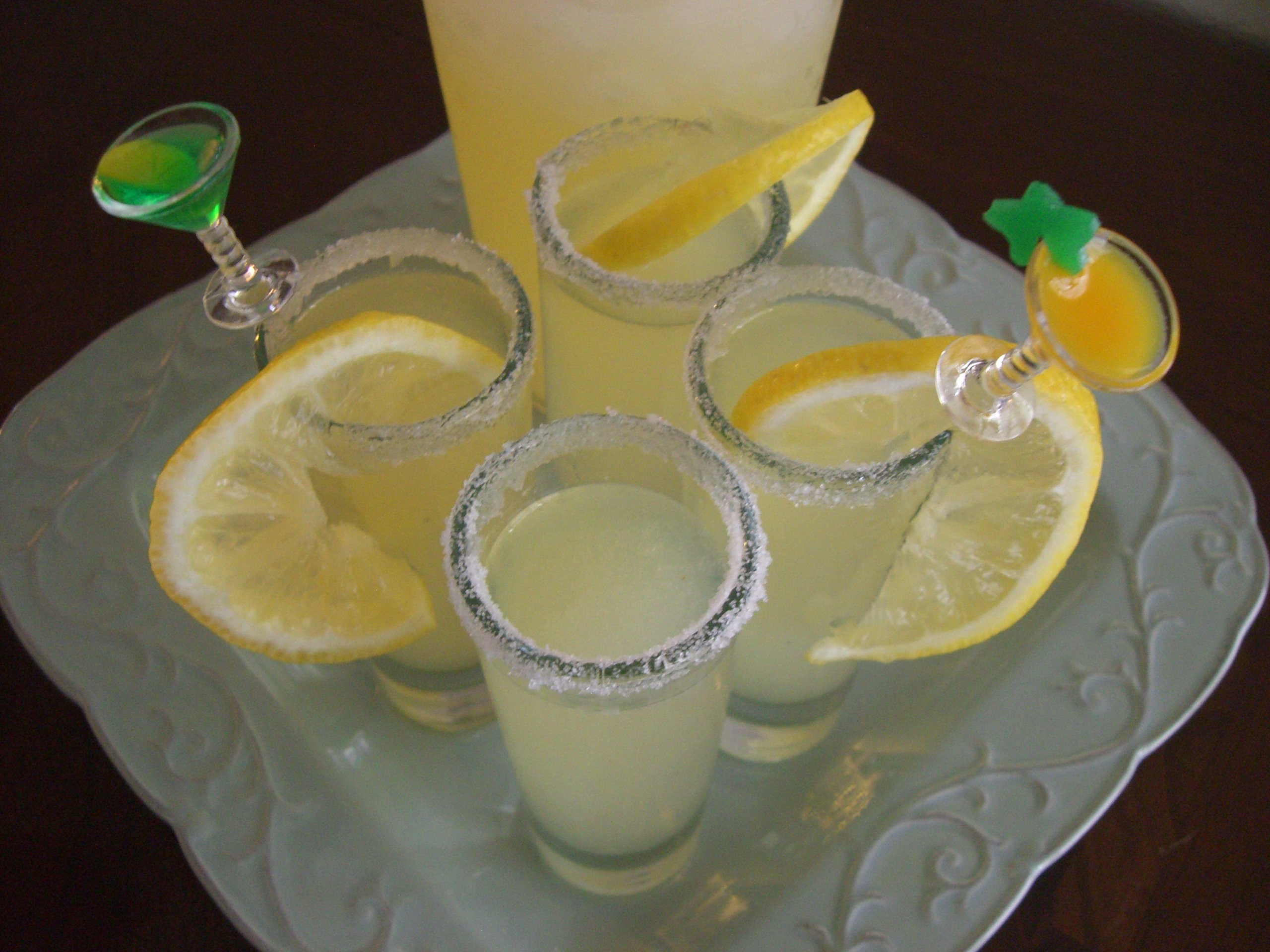 lemon drop shot how to take