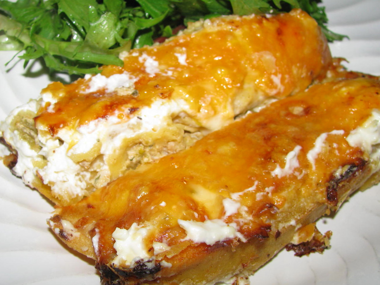 Sour Cream Chicken Enchiladas Recipes — Dishmaps