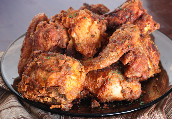fried chicken garlic southern fried chicken herb and spice southern ...