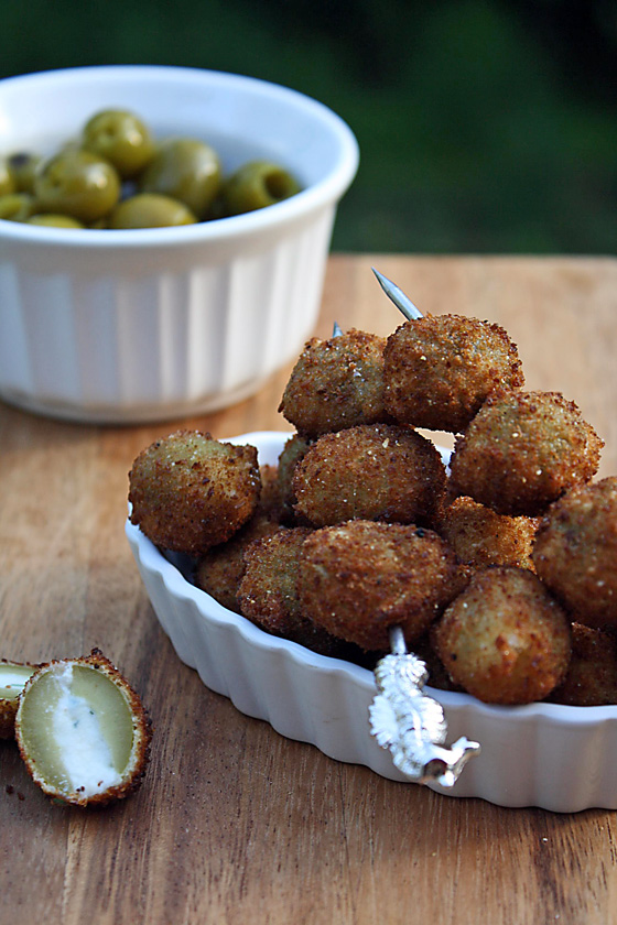 Olive Fritte (Fried Olives Stuffed with Cheeses & Herbs) | Tasty ...