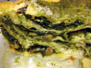 Wild Mushroom and Spinach Lasagna | Tasty Kitchen: A Happy ...