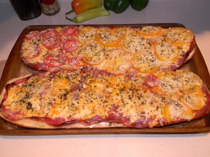 how to make salami sandwich