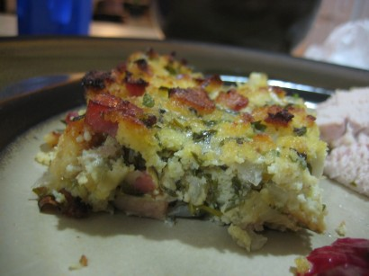 Herbed Low-Carb Stuffing with Pancetta and Leeks | Tasty Kitchen: A ...