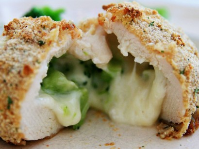 Crusted stuffed chicken breast recipes