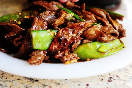 Beef With Snow Peas The Pioneer Woman