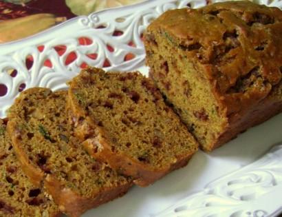 Pumpkin Spice Zucchini Bread | Tasty Kitchen: A Happy Recipe Community ...
