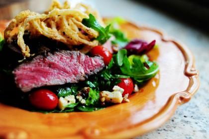 Best recipes ever steak salad
