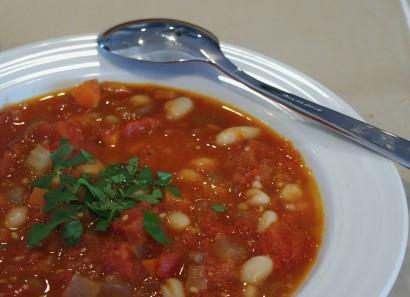Суп фасолевый без мяса рецепт с фото